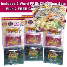 24 Player Word FRENZY Party Set Special